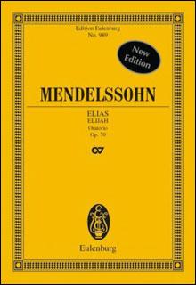 楽譜 メンデルスゾーン/オラトリオ「エリヤ」 作品70(オーケストラ・スコア (小型スタディスコア)/輸入楽譜(T))