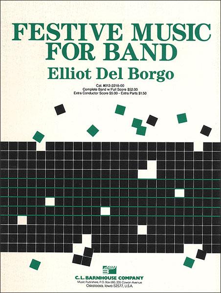 楽譜 バンドのための祝典序曲/デル・ボルゴ作曲(【351】/012-2218-00/輸入吹奏楽譜(T)コンサート・バンド/G2.5/T:3:30)