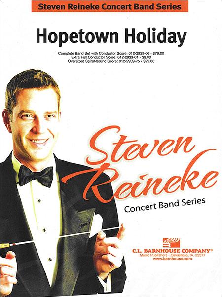 楽譜 ホープタウン・ホリデイ/ライニキー作曲 012-2939-00/輸入吹奏楽譜(T)コンサート・バンド/G3.5/T:5:25
