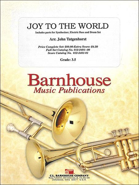 楽譜 もろびとこぞりて/タジェンホースト編曲 輸入吹奏楽譜(T)コンサート・バンド/G3.5/T:2:29