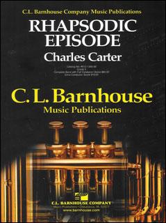 楽譜 ラプソディック・エピソード/カーター作曲 012-1366-00/輸入吹奏楽譜(T)コンサート・バンド/G3/T:6:07