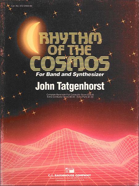 楽譜 宇宙のリズム/タジェンホースト作曲 輸入吹奏楽譜(T)コンサート・バンド/G3/T:3:34