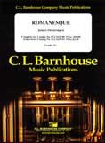 楽譜 ロマネスク/スウェアリンジェン作曲 012-1639-00/輸入吹奏楽譜(T)コンサート・バンド/G2.5/T:3:30