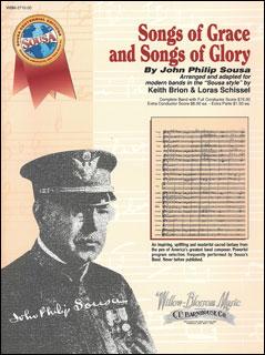 楽譜 優雅な歌と栄光の歌/スーザ作曲 WBM-2710-00/輸入吹奏楽譜(T)CENTENNIAL EDITIONS/G4/T:8:40