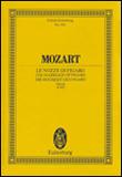 楽譜 モーツァルト/フィガロの結婚 K.492 SW2044/輸入楽譜/スコア(ポケット)/オペラ