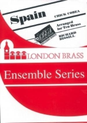 [楽譜] スペイン(チック・コリア)【金管十重奏】【送料無料】(SPAIN (10+Brass)《輸入楽譜》