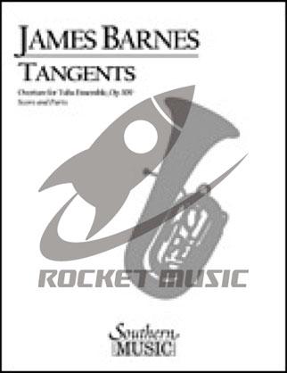 [楽譜] タンジェンツ(オンデマンド出版)【ユーフォニアム・テューバ八重奏】【10,000円以上送料無料】(TANGENTS (8 Ep/Tu)(OD)《輸入楽譜》