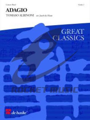 [楽譜] アダージョ【ブリティッシュ・スタイル金管バンド】【10,000円以上送料無料】(ADAGIO (Brass Band)《輸入楽譜》