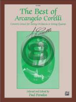 [楽譜] ザ・ベスト・オブ・コレルリ セット《輸入オーケストラ楽譜》【10,000円以上送料無料】(BEST OF ARCANGELO CORELLI,THE Sc & Parts Set)《輸入楽譜》