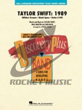 [楽譜] テイラー・スウィフト・1989(3曲メドレー)《輸入吹奏楽譜》【10,000円以上送料無料】(Taylor Swift: 1989)《輸入楽譜》
