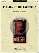 [楽譜] 「パイレーツ・オブ・カリビアン~呪われた海賊たち」メドレー(同名ディズニー映画より)《輸入オーケスト...【送料無料】(PIRATES OF THE CARIBBEAN)《輸入楽譜》