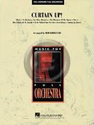 [楽譜] カーテン・アップ!(ブロードウェイ名曲6曲メドレー《輸入オーケストラ楽譜》【送料無料】(CURTAIN UP!)《輸入楽譜》