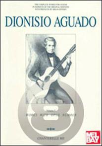 [楽譜] D.アグアド/コンプリート・ギター・ワークス Vol.3《輸入ギター楽譜》※出版社都合により、納期に...【送料無料】(Dionisio Aguado y Garcia/Complete Guitar Works Band 3)《輸入楽譜》