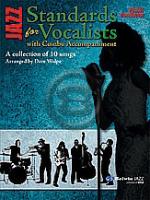 [楽譜] コンボ伴奏でのジャズ・スタンダード集(ジャズコンボ用)【送料無料】(Jazz Standards for Vocalists with Combo Accompaniment)《輸入楽譜》