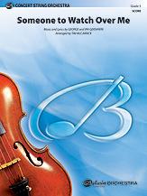[楽譜] サムワン・トゥ・ウォッチ・オーバー・ミー(映画「めぐり逢えたら」より)《輸入オーケストラ楽譜》【10,000円以上送料無料】(SOMEONE TO WATCH OVER ME)《輸入楽譜》