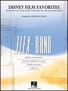 ディズニー映画メドレー(美女と野獣、他4曲)【フレックスバンド】《輸入吹奏楽譜》【送料無料】(DISNEY [楽譜] FILM FAVORITES(Flex-Band)《輸入楽譜》