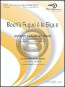 [楽譜] バッハのジーグ風フーガ《輸入吹奏楽譜》【送料無料】(BACH'S FUGUE A LA GIGUE)《輸入楽譜》