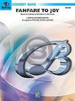 [楽譜] ファンファーレ「よろこびの歌」《輸入吹奏楽譜》【10,000円以上送料無料】(FANFARE TO JOY)《輸入楽譜》