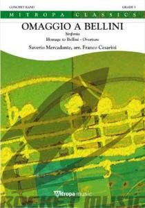 [楽譜] 「ベッリーニへのオマージュ」序曲《輸入吹奏楽譜》【送料無料】(OMAGGIO A BELLINI)《輸入楽譜》
