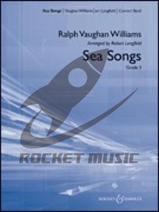 [楽譜] 海の歌《輸入吹奏楽譜》【送料無料】(Sea Songs)《輸入楽譜》