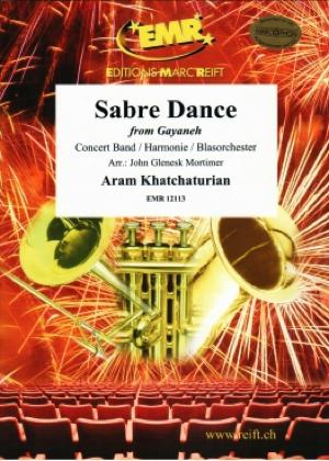 [楽譜] バレエ音楽「ガイーヌ」より 剣の舞《輸入吹奏楽譜》【送料無料】(Sabre Dance (from Gayaneh)《輸入楽譜》