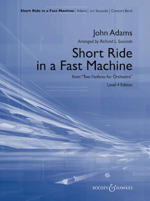 [楽譜] ショート・ライド・イン・ファスト・マシン《輸入吹奏楽譜》【送料無料】(Short Ride in a Fast Machine)《輸入楽譜》