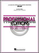 [楽譜] スペイン(グレード5、バーベラ編)《輸入ジャズ楽譜》【10,000円以上送料無料】(SPAIN)《輸入楽譜》