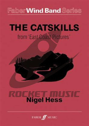 [楽譜] 「イースト・コーストの風景」より キャッツキル山脈《輸入吹奏楽譜》【送料無料】(CATSKILLS FROM EAST COAST PICTURES,THE)《輸入楽譜》