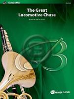 [楽譜] 列車大競争《輸入吹奏楽譜》【10,000円以上送料無料】(GREAT LOCOMOTIVE CHASE,THE)《輸入楽譜》