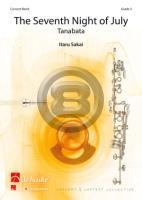 [楽譜] たなばた《輸入吹奏楽譜》【送料無料】(SEVENTH NIGHT OF JULY,THE)《輸入楽譜》