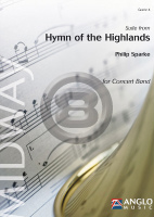 [楽譜] ハイランド讃歌組曲《輸入吹奏楽譜》【送料無料】(SUITE FROM HYMN OF THE HIGHLANDS)《輸入楽譜》