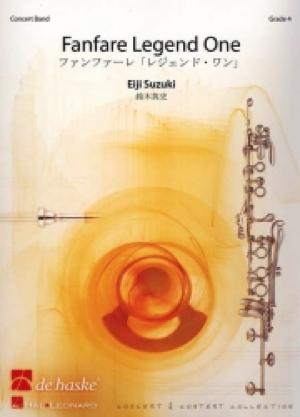 [楽譜] ファンファーレ・レジェンド・ワン《輸入吹奏楽譜》【送料無料】(FANFARE LEGEND ONE)《輸入楽譜》