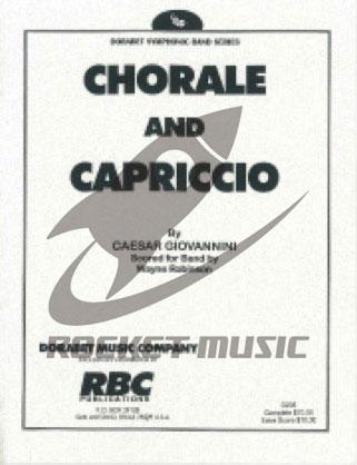 [楽譜] コラールとカプリチオ《輸入吹奏楽譜》【送料無料】(CHORALE AND CAPRICCIO)《輸入楽譜》