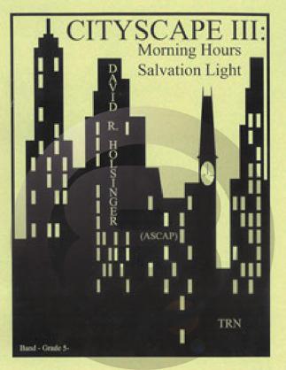 [楽譜] 街の情景III《輸入吹奏楽譜》【送料無料】(CITYSCAPE III Morning Hours Salvation Light)《輸入楽譜》