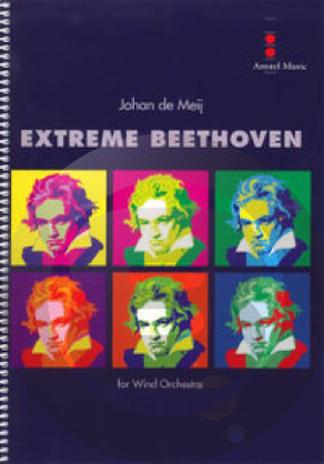[楽譜] エクストリーム・ベートーヴェン《輸入吹奏楽譜》【送料無料】(EXTREME BEETHOVEN)《輸入楽譜》