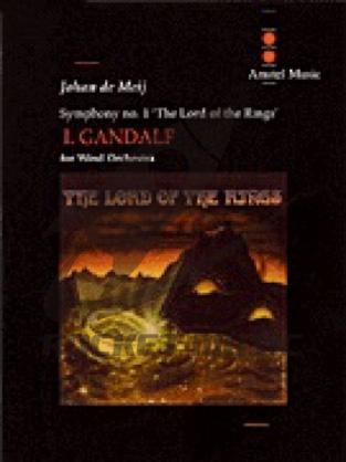 [楽譜] 交響曲第1番「指輪物語」第1楽章:魔法使い(ガンダルフ)《輸入吹奏楽譜》【送料無料】(LORD OF THE RINGS  GANDALF  MVT. I)《輸入楽譜》