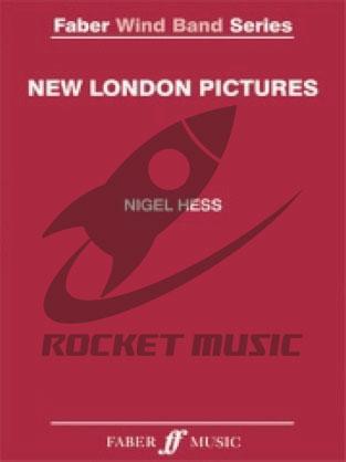 [楽譜] ニュー・ロンドン・ピクチャーズ《輸入吹奏楽譜》【送料無料】(NEW LONDON PICTURES)《輸入楽譜》