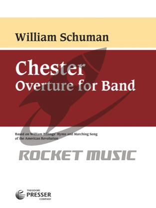 [楽譜] バンドのための序曲「チェスター」【送料無料】(Chester Overture For Band)《輸入楽譜》