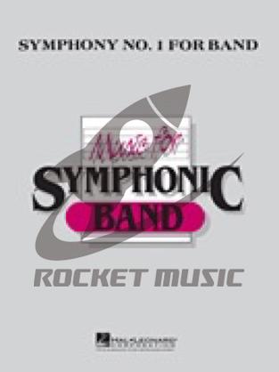 [楽譜] 吹奏楽のための交響曲第一番(オンデマンド出版)《輸入吹奏楽譜》【送料無料】(Symphony No. 1 for Band(OD)《輸入楽譜》