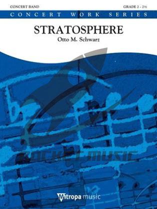 [楽譜] ストラトスフェア(成層圏)《輸入吹奏楽譜》【送料無料】(Stratosphere)《輸入楽譜》