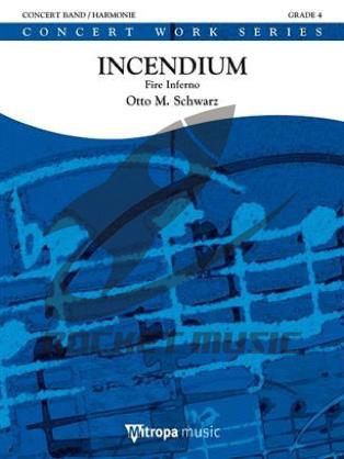 [楽譜] インセンディウム ファイヤー・インフェルノ(火災地獄)《輸入吹奏楽譜》【送料無料】(Incendium Fire Inferno)《輸入楽譜》