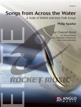 [楽譜] 水の向こう側の歌《輸入吹奏楽譜》【送料無料】(Songs from Across the Water)《輸入楽譜》