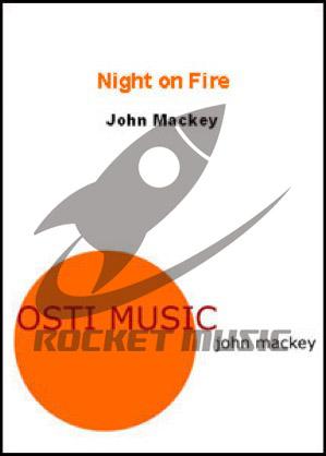 [楽譜] 「モーションズ」より第2楽章「ナイト・オン・ファイヤー」《輸入吹奏楽譜》【送料無料】(Night on Fire)《輸入楽譜》