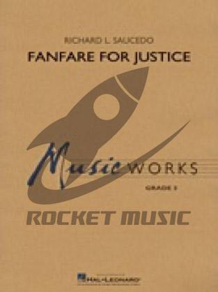 [楽譜] 正義のためのファンファーレ《輸入吹奏楽譜》【送料無料】(Fanfare for Justice)《輸入楽譜》