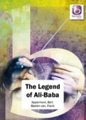 [楽譜] アリババの伝説《輸入吹奏楽譜》【送料無料】(The Legend of Ali Baba)《輸入楽譜》