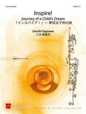 [楽譜] インスパイア! 夢見る子供の旅《輸入吹奏楽譜》【送料無料】(Inspire!)《輸入楽譜》