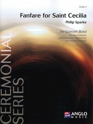 [楽譜] 聖セシリアのファンファーレ《輸入吹奏楽譜》【送料無料】(Fanfare for Saint Cecilia)《輸入楽譜》
