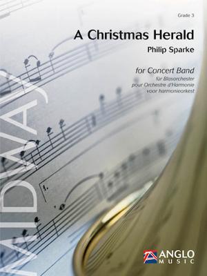 [楽譜] クリスマス・ヘラルド《輸入吹奏楽譜》【送料無料】(A Christmas Herald)《輸入楽譜》