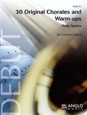 [楽譜] 30のコラール集とウォームアップ(スパーク作曲)《輸入吹奏楽譜》【送料無料】(30 Original Chorales and Warm-Ups)《輸入楽譜》