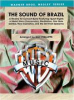 [楽譜] サウンド・オブ・ブラジル(ジョビン5曲メドレー)《輸入吹奏楽譜》【送料無料】(SOUND OF BRAZIL)《輸入楽譜》